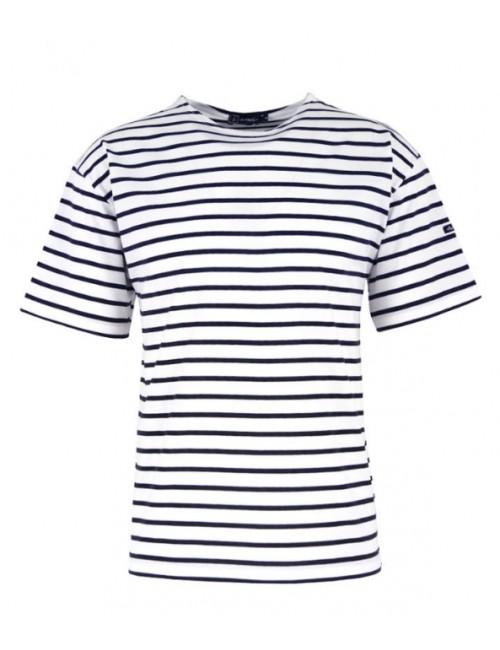 t-shirt Armor-lux Théviec blanc/marine