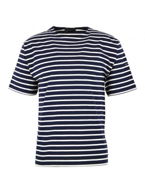 T-shirt Armor-lux Théviec marine/blanc