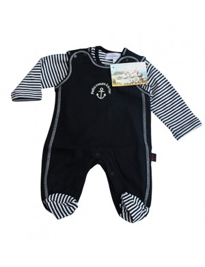 Pyjama bébé marin Laponie en coton