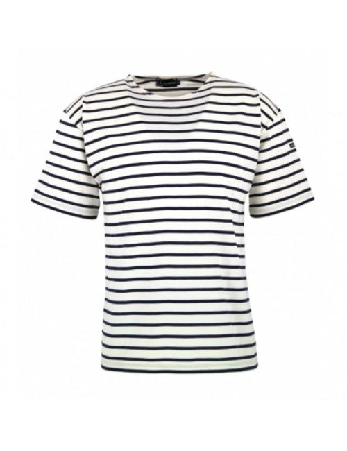 T-shirt Armor-lux Théviec écru/marine
