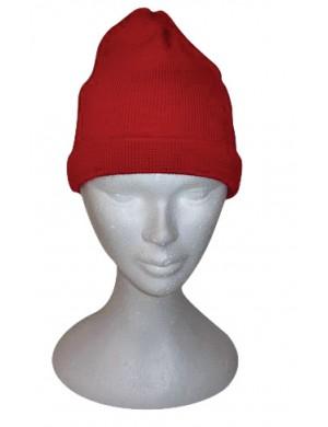 Bonnet rouge Brise-lames laine
