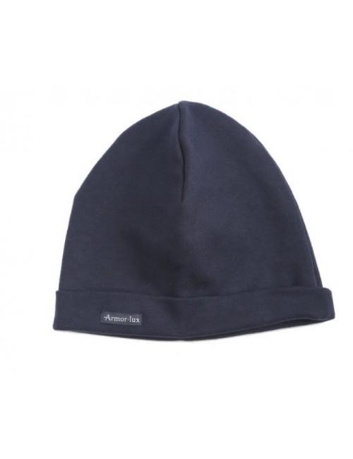 bonnet armor lux coton marine