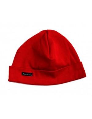bonnet armor lux coton rouge