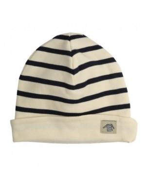 Bonnet bébé Armor-lux coton écru/marine