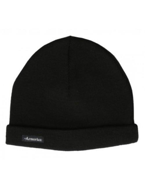 Bonnet pure laine Armor-lux noir
