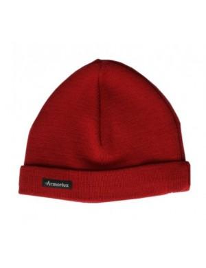 Bonnet pure laine Armor-lux rouge