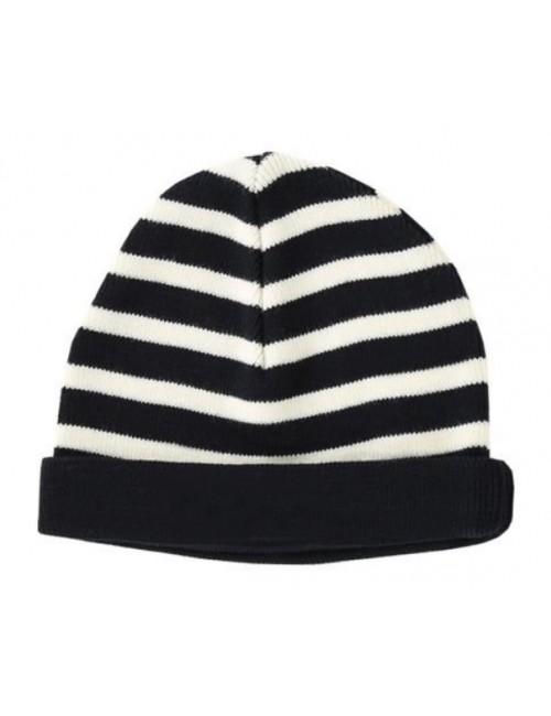 Bonnet pure laine Armor-lux marine/écru