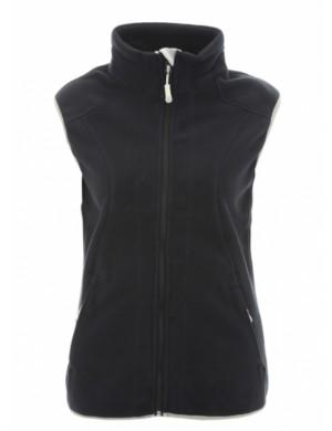 veste polaire femme Bermudes sans manche Merzan bleu marine