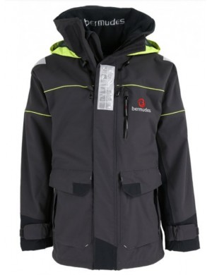 Veste nautique technique venturi long grise