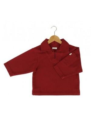 Vareuse armor lux pour enfant rouge braise