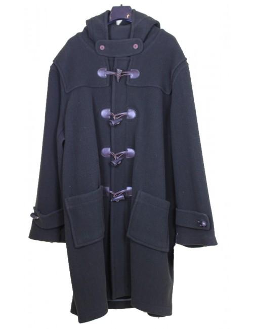 Duffle-coat Glen Roses oxford vert loden