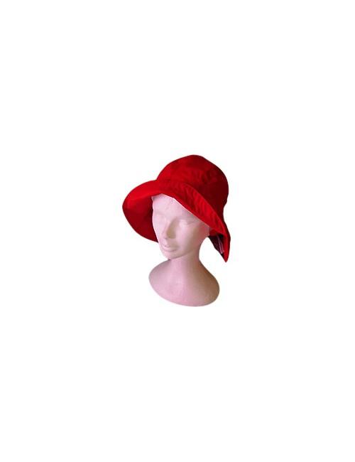 Chapeau de pluie suroit rouge