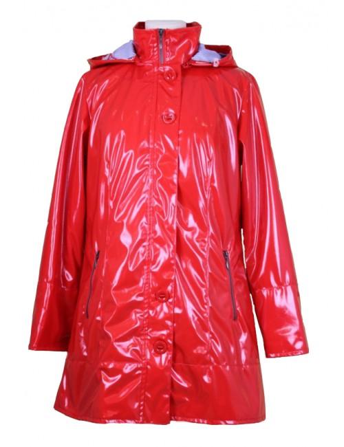 Ciré coupe vent femme Bermudes Bruges rouge coquelicot