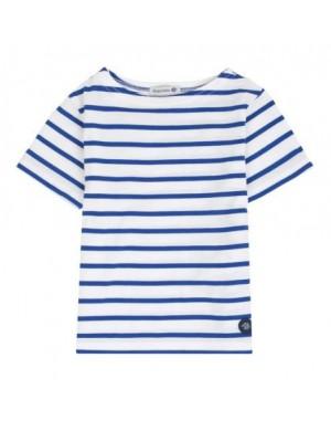 Tshirt enfant rayé blanc/étoileArmor-kid