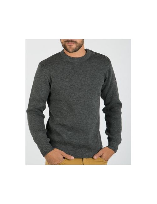 Pull marin Fouesnant gris Armor Lux