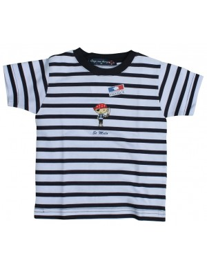 Tshirt enfant rayé pirate