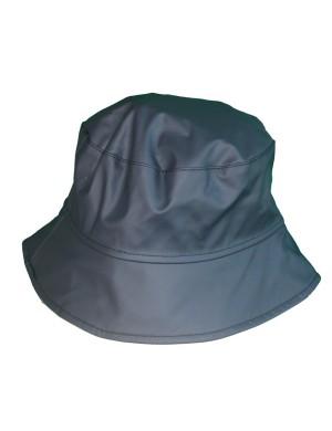 Chapeau de pluie imperméable bleu marine