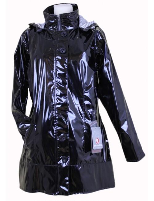 cir coupe vent femme bermudes bruges bleu noir. Black Bedroom Furniture Sets. Home Design Ideas