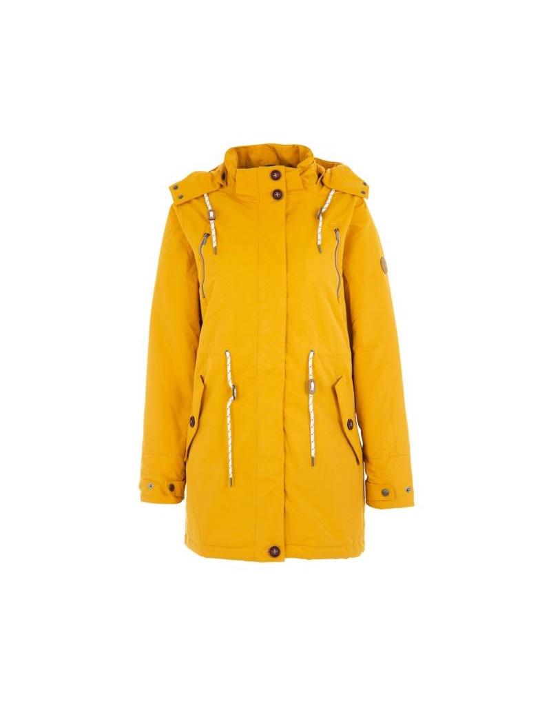 fréquent style distinctif fournir un grand choix de Parka imperméable femme Bermudes Berine jaune