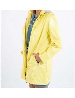 Ciré coupe vent femme Bermudes Bruges jaune lime