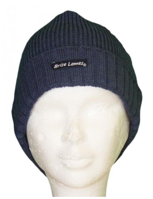 Bonnet de laine Alan bleu jean