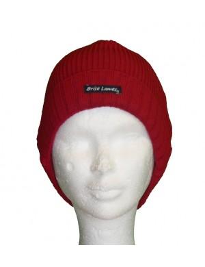 Bonnet de laine Alan rouge