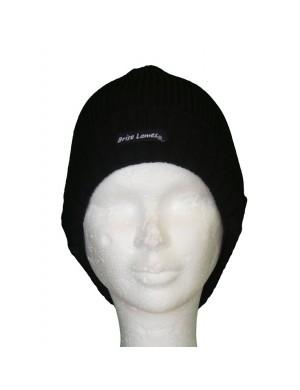 Bonnet de laine Alan noir