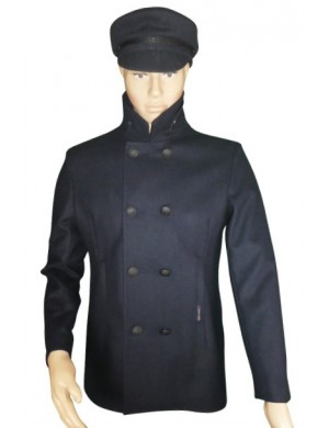 Caban mixte Dauphin bleu marine Dumont d'Urville