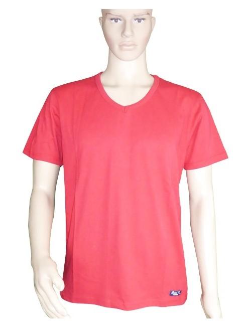 T-shirt vaisseau rouge mixte