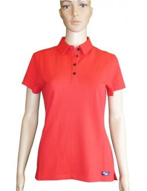Polo Océane rouge femme
