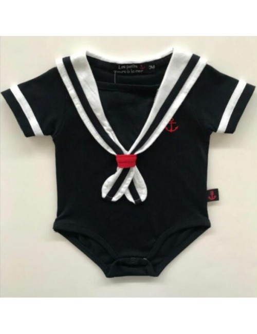 Body marin pour bébé