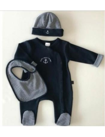 Pyjama bébé/enfant marine