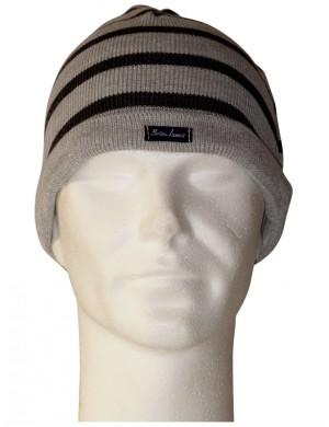 Bonnet Brise-lames laine gris/gris foncé
