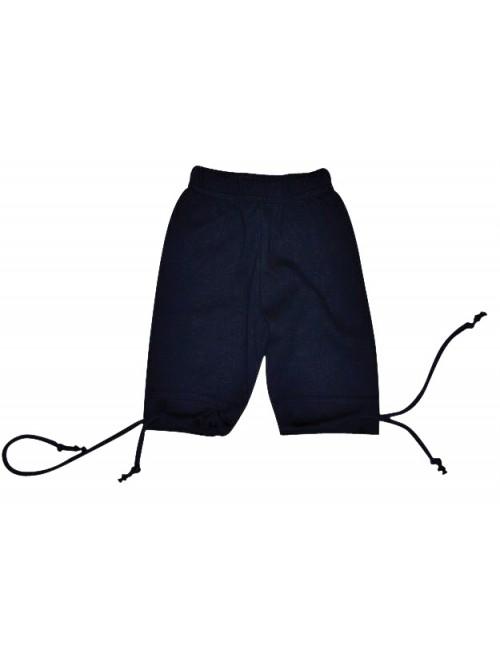 Pantalon corsaire enfant bleu marine