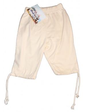 Pantalon corsaire enfant écru