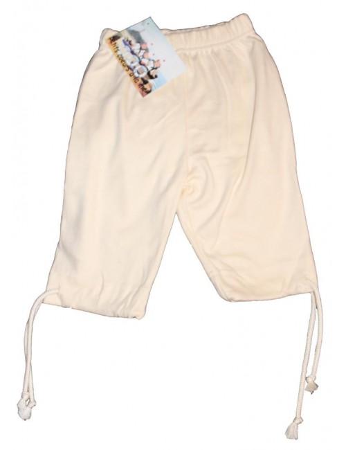 Pantalon corsaire enfant et bébé écru